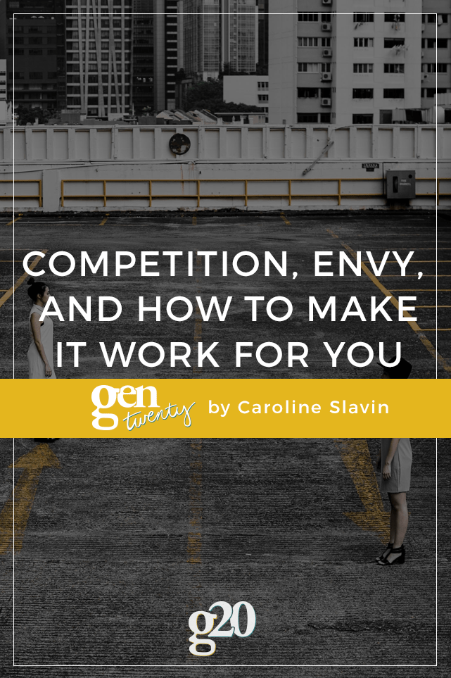 Competition can be a healthy tool for growth and motivation if used the right way.