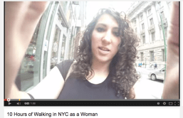 10 Hours of Walking in NYC as a Woman: Is it Really a Problem?