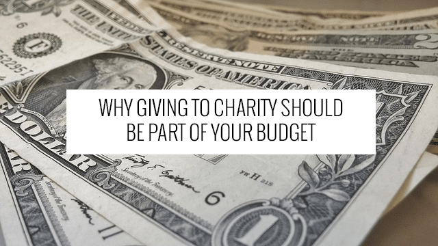charity budget