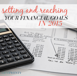 Setting Your Financial Goals in 2015