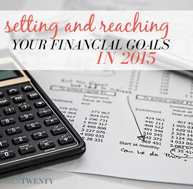 financial goals in 2015