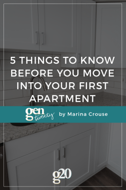 Five Things to Know Before You Move into Your First Apartment