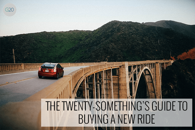 The Twenty-Something's Guide for Buying a New Ride