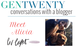 Conversations With a Blogger: Alivia of Liv Light