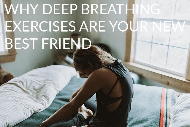 Feeling stressed, trapped, panicked or overwhelmed? Give deep breathing a try.