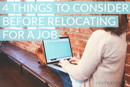 Four Financial Things to Consider Before Relocating for Work
