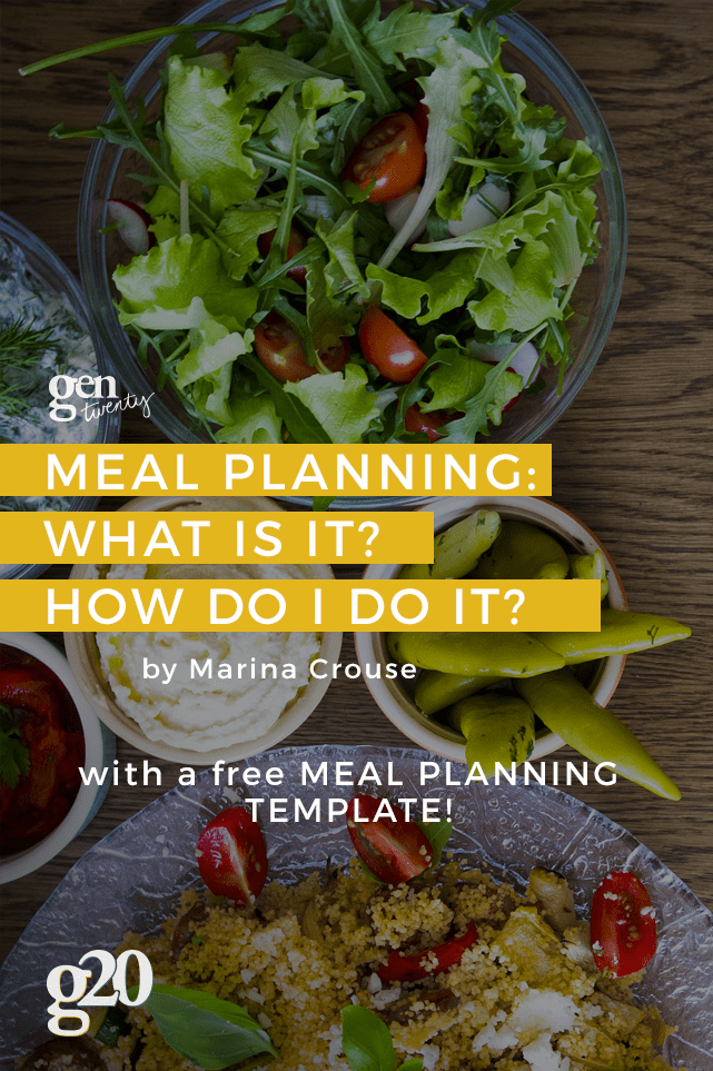Meal planning is a great way to save money and help you keep to eating healthy. We made a Meal Planning Template to help you make it super easy! Click through for the download.