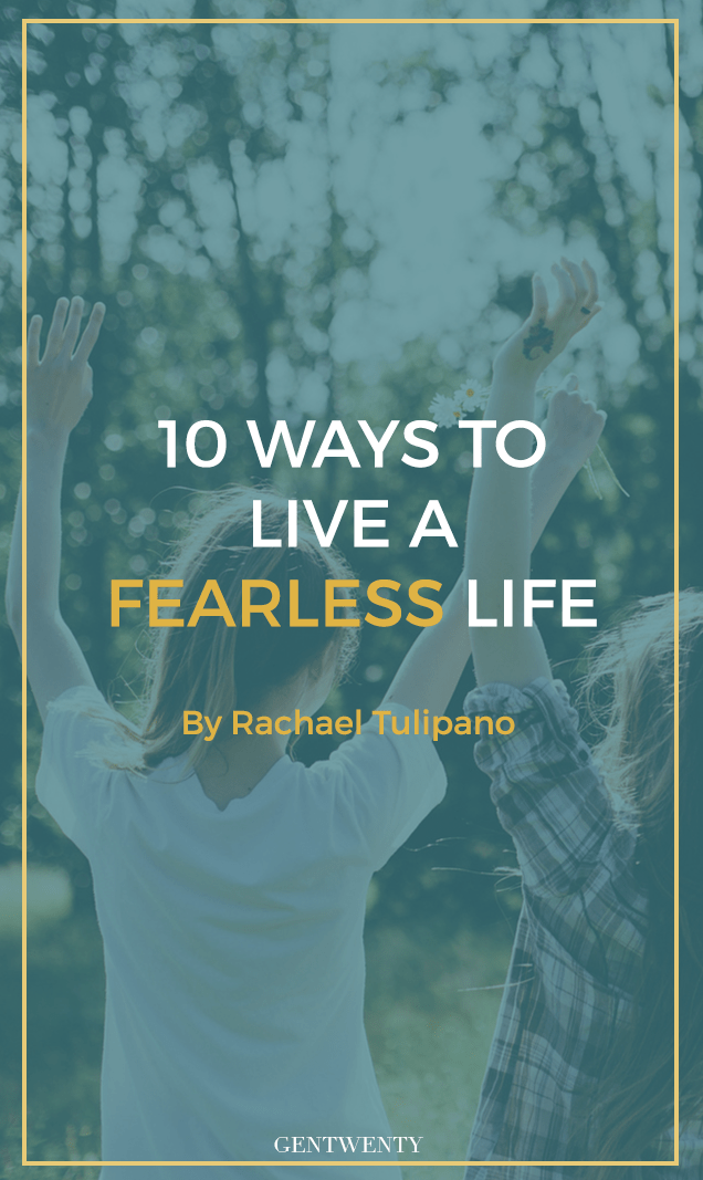 Being fearless in your twenties seems nearly impossible. With so many big changes happening it's often difficult to be courageous in our metamorphosis from young adults to full-fledged professionals. Click through for 10 ways YOU can be fearless.