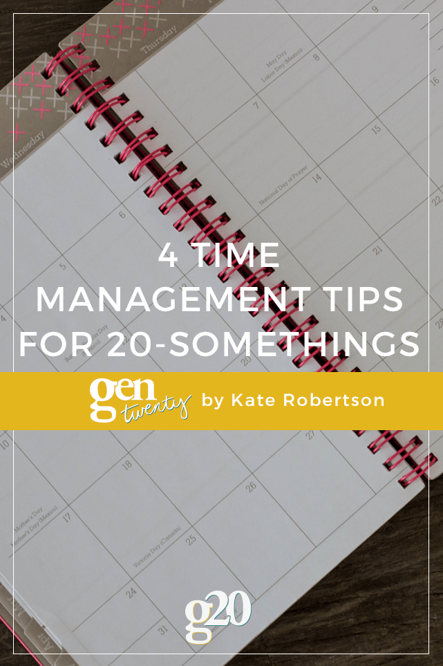 If you manage your time well, you'll get more done, and ideally be less stressed. No one needs more stress in their lives. Click through for 4 tips.