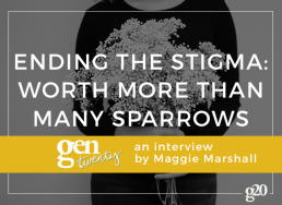 "Ending the Mental Illness Stigma: Meet ""Worth More Than Many Sparrows"""