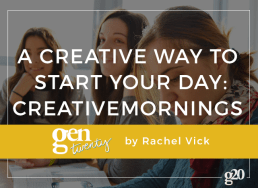 A Creative Way to Start Your Day: CreativeMornings