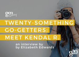 Meet a Twenty-Something Go-Getter: Kendal R