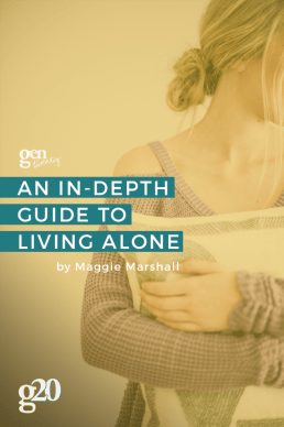 An In-Depth Guide to Living Alone (Plus a Checklist!)