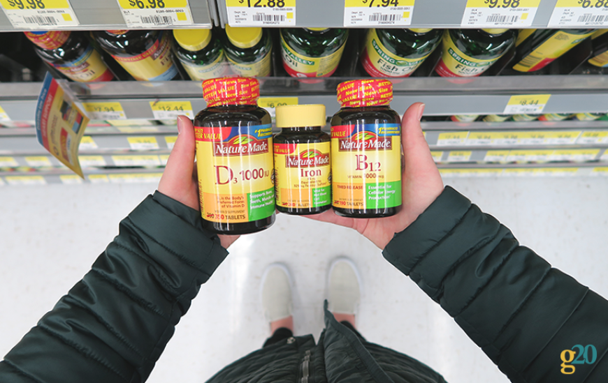 Vitamins play a key part in my health and wellness routine.