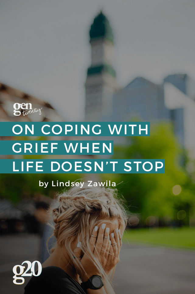 Even though life moves in one direction, everyone lives at their own pace. It's impossible to think you can ignore a loss and continue on like nothing happened. Here's how to heal at your own pace.