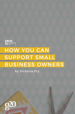 How You Can Support Small Business Owners as a Twenty-Something