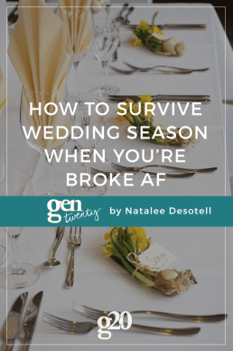 7 Tips for Surviving Wedding Season with No Budget