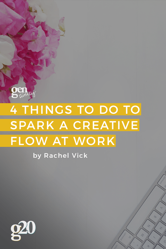 The lack of creativity is fatal. So what do you do when it just won't come to you? Here are 4 suggestions.