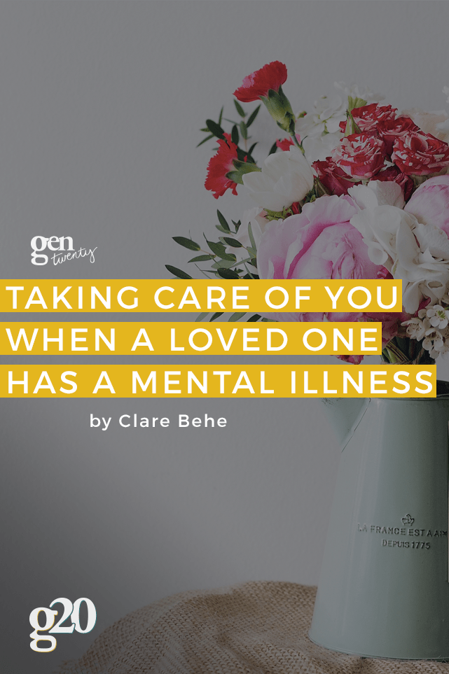 Loving someone with a mental illness can take its toll on you. Learn about setting boundaries and self-care here.