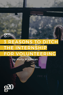 Why You Should Ditch the Internship for Volunteering This Summer