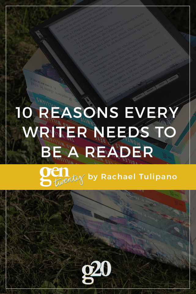 The best writers are avid readers. If you're a writer, your own readers can tell if you read or not. Here's how: