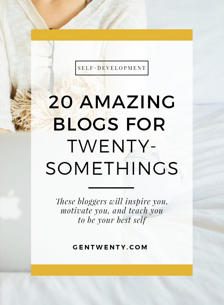 best blogs, twenty-something bloggers, inspirational blogs