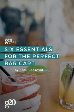 6 Essentials For The Perfect Bar Cart