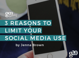 3 Reasons Why Twenty-Somethings Should Limit Their Social Media Use