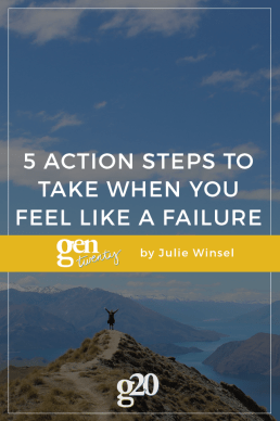 5 Immediate Action Steps to Take When You Feel Like a Failure