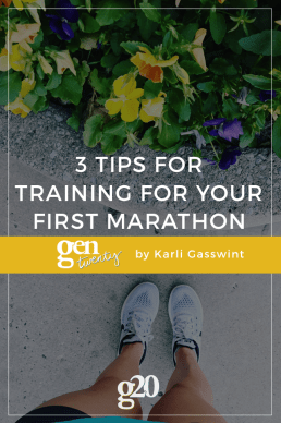 3 Tips for Training for Your First Marathon
