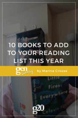 10 Books to Add to Your Reading List This Year