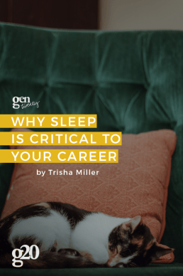 Why Sleep Is Critical to Your Career
