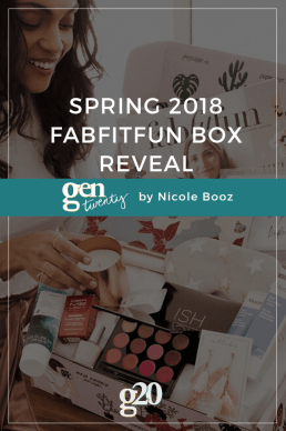 Spring 2018 FabFitFun Box Reveal