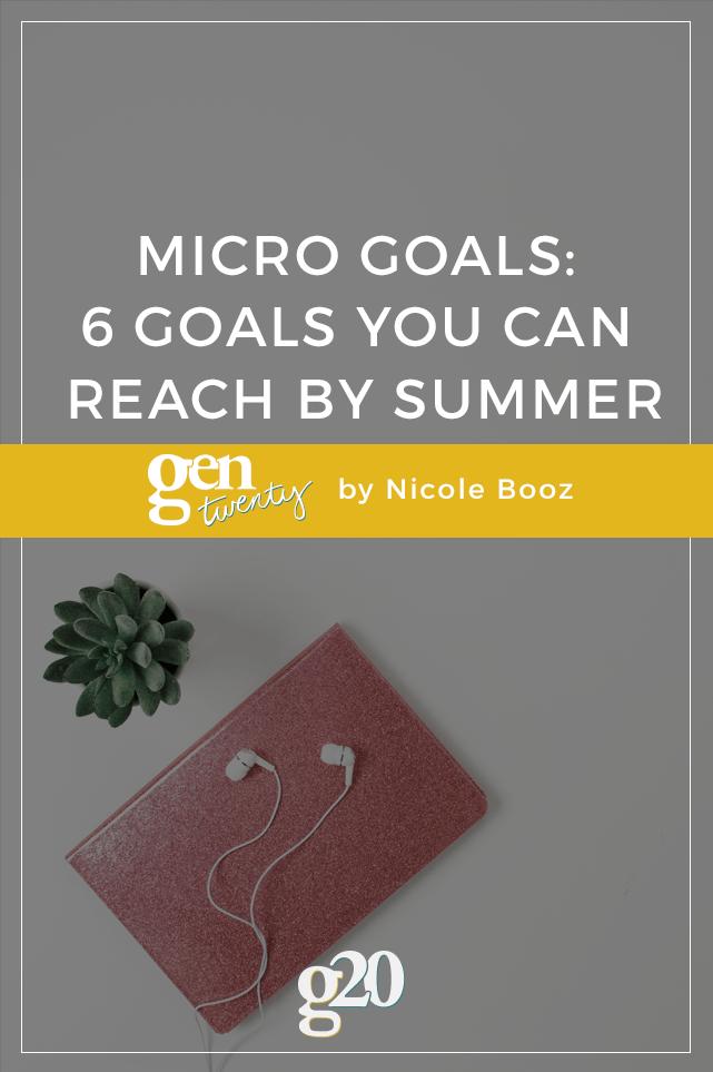 Day 30: Set a Short Term Goal