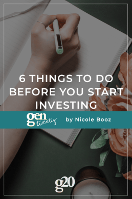 6 Things To Do Before You Start Investing
