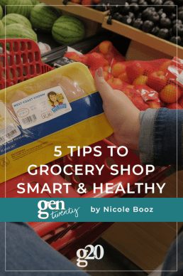 5 Tips To Grocery Shop Smart and Healthy