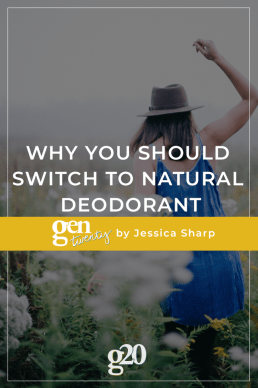Why You Should Switch To Natural Deodorant