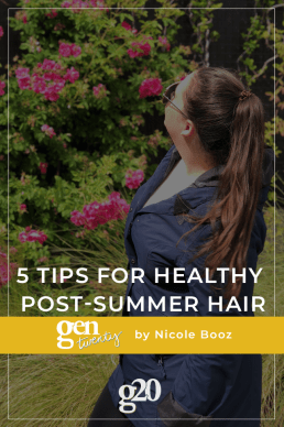 5 Tips For Healthy Post-Summer Hair