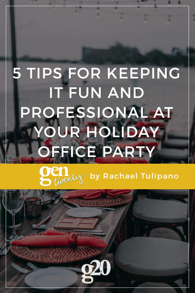 5 Tips for Keeping It Fun And Professional At Your Holiday Office Party