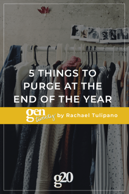 5 Things To Purge At The End Of The Year