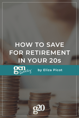 How to Save for Retirement in Your 20s