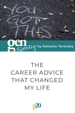 The Career Advice That Changed My Life