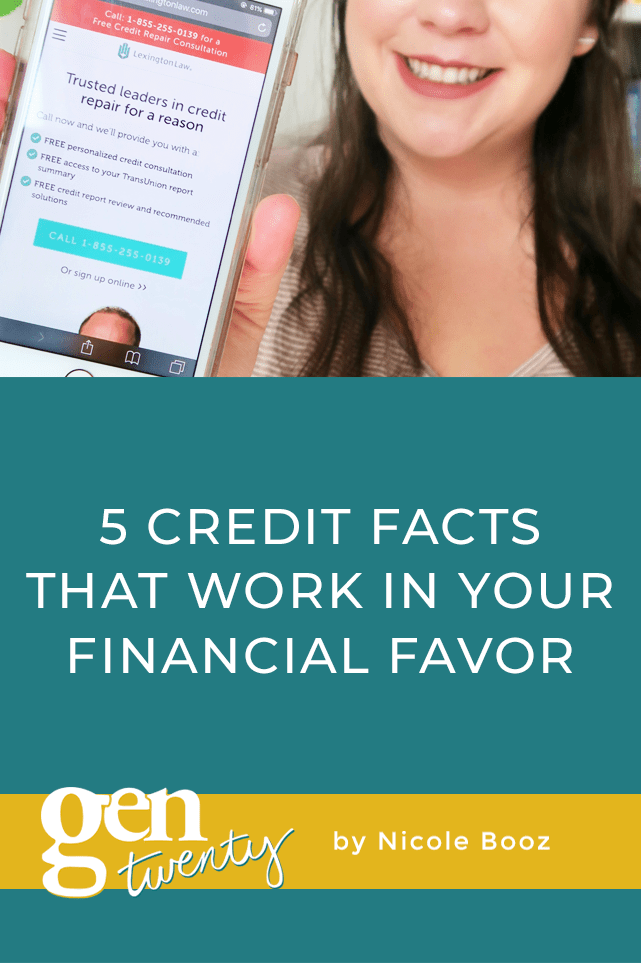 5 Credit Facts That Work In Your Financial Favor