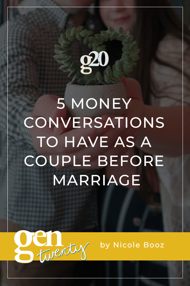 5 Money Conversations To Have as a Couple Before Marriage