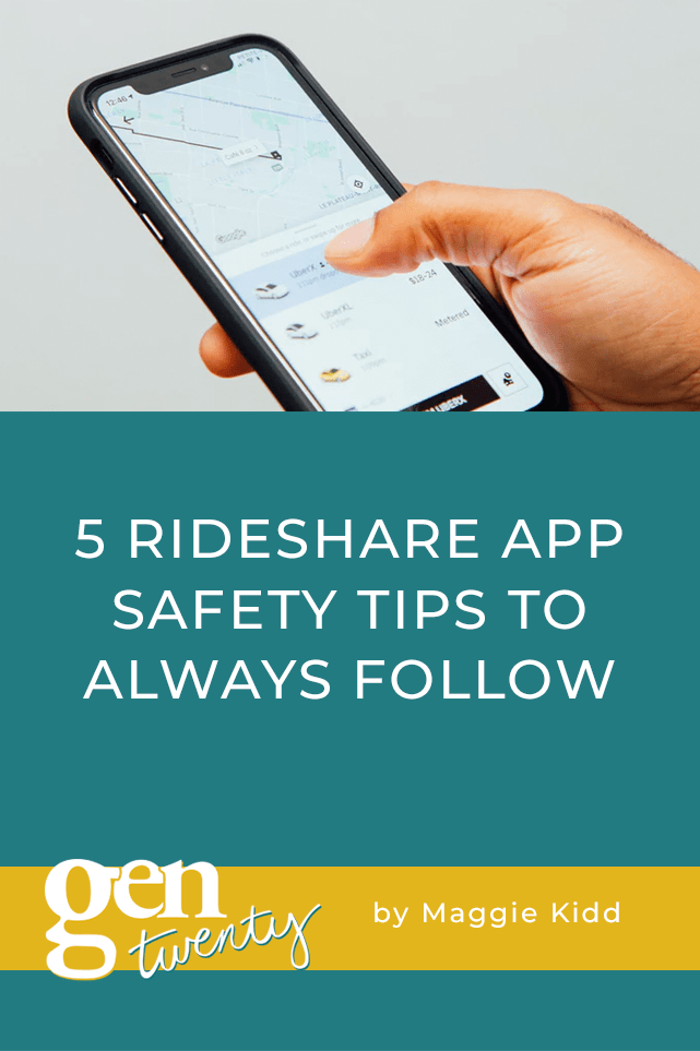 5 Rideshare App Safety Tips To Always Follow