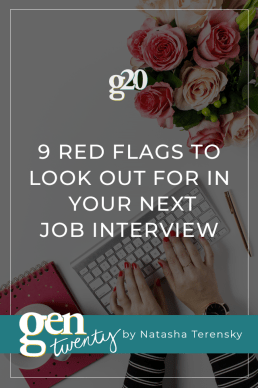 9 Red Flags To Look Out For In Your Next Interview