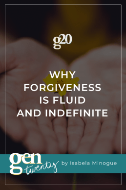Forgiveness is Fluid and Indefinite