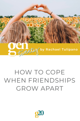 How To Cope When Friendships Grow Apart