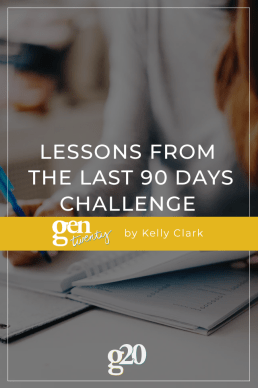 Lessons From The Last 90 Days Challenge (Even Though I Failed)