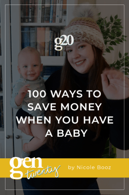100 Ways To Save Money When You Have A Baby